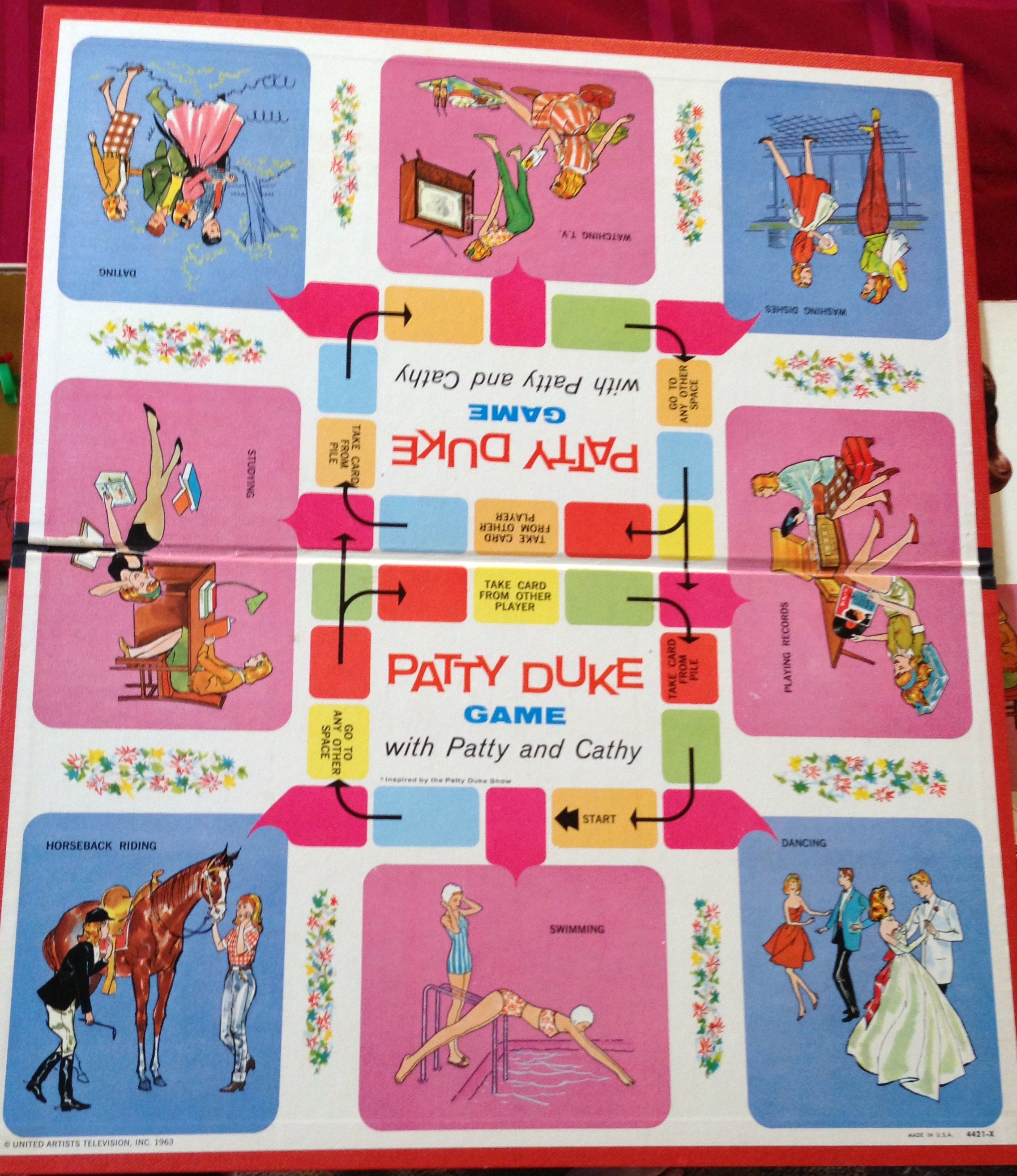 Spin Again : Board Games from the Fifties and Sixties by Rick Polizzi 1st ed SC