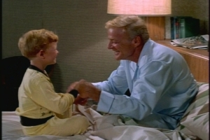 The tag scene is extra adorable. Jody imitates Uncle Bill, complete with a Brian-Keith-style face rub of consternation.