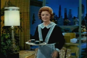 Now she's gone and I still don't know why she's so familiar. Maybe I've seen her on Bewitched. I know I've seen a similar plot on that show.