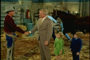 "The kids are thrilled to meet a ""real, live cowboy,"" and Uncle Bill invites his friend to stay at the Davis apartment."