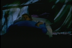 For one thing, the camp seems to have placed 6-year-old Buffy in a tent by herself.