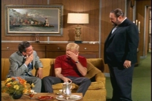 In the featurette included with the Season 1 DVDs, Kathy Garver says that Brian Keith would avoid making eye contact with guest stars he didn't like. I get the feeling throughout this episode that Christopher Dark isn't a personal favorite of his.