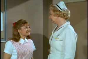 She's thrilled when the head nurse tells her that she's merely been transferred to another floor--the maternity ward.
