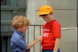 """To Sam's credit, he doesn't say, """"Get your hands off me, kid."""" Instead, he invites Jody to try out for the 63rd Street Tigers."""