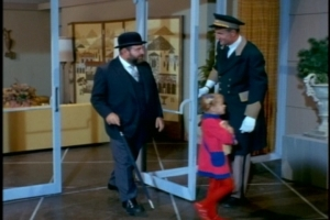Oh, and one more thing before we get to the kids' school--we get a Scotty sighting in this episode!