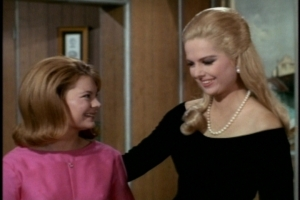 She offers to help Cissy with her hair and ends up helping the teen feel good about her usual hairstyle.