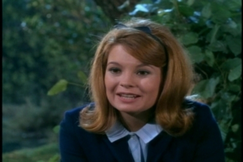 Kathy Garver does a good job expressing genuine emotion in this scene.