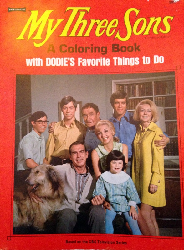 my three sons coloring book cover