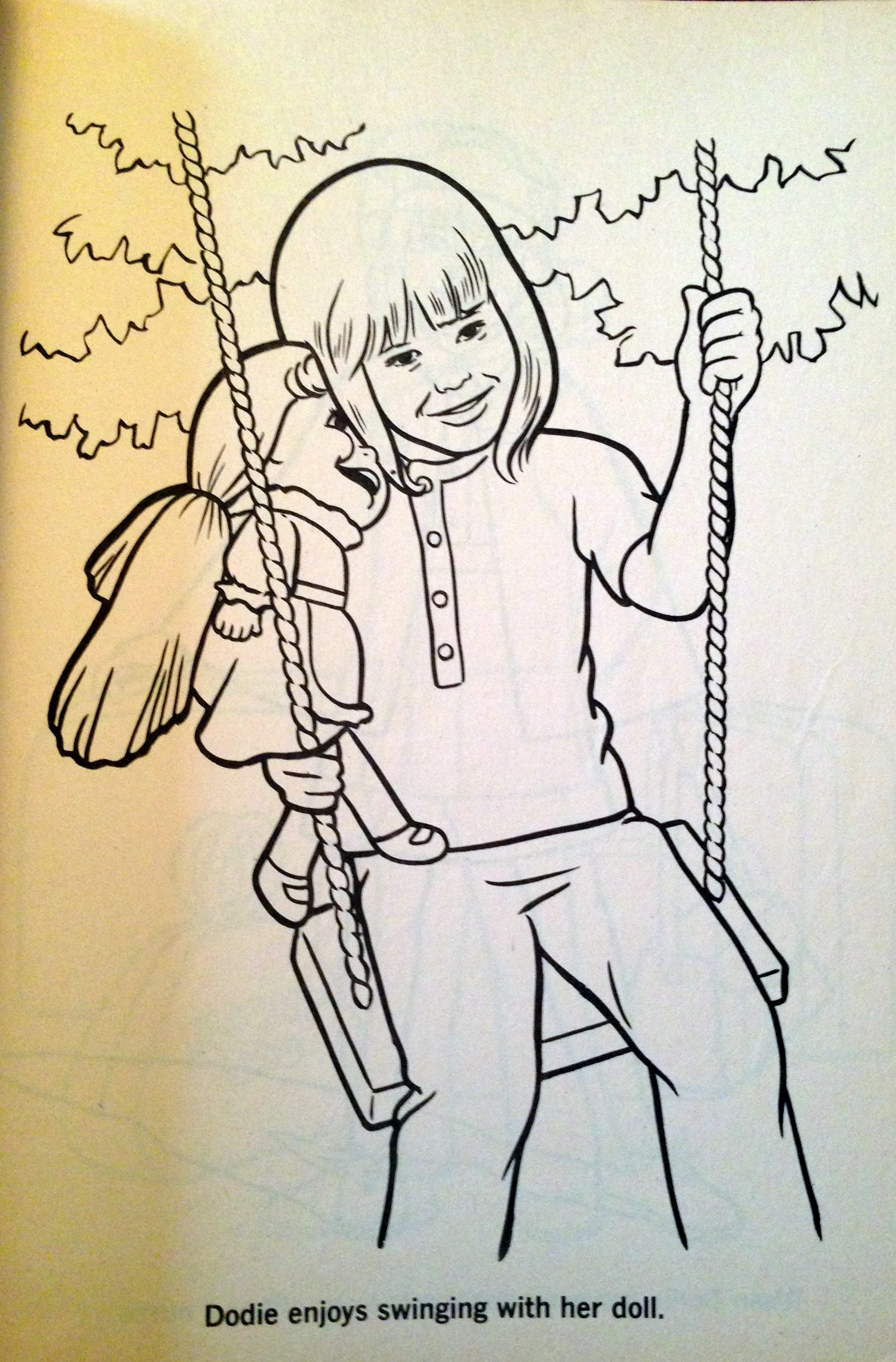 1970s Coloring Pages Vintage coloring books embarrassing treasures
