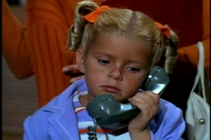 Heavy-breathing phone calls in second grade? Leonard has a creepy future ahead of him, I think.