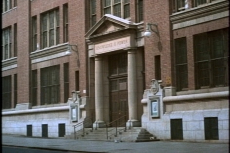 "I like the ""Knowledge is Power"" engraving on Buffy and Jody's school. I would love to know what school is actually pictured there--anyone recognize it?"