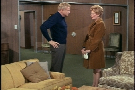 One night, Mrs. Bowers drops by the Davis apartment to tell Bill that Buffy should probably stop visiting Eve.
