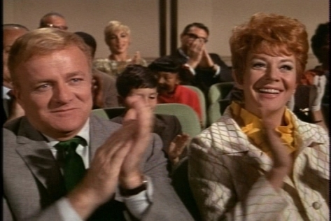 The Davis family enjoys the performance though. (I like the way Brian Keith looks proud but slightly bemused, as well.)
