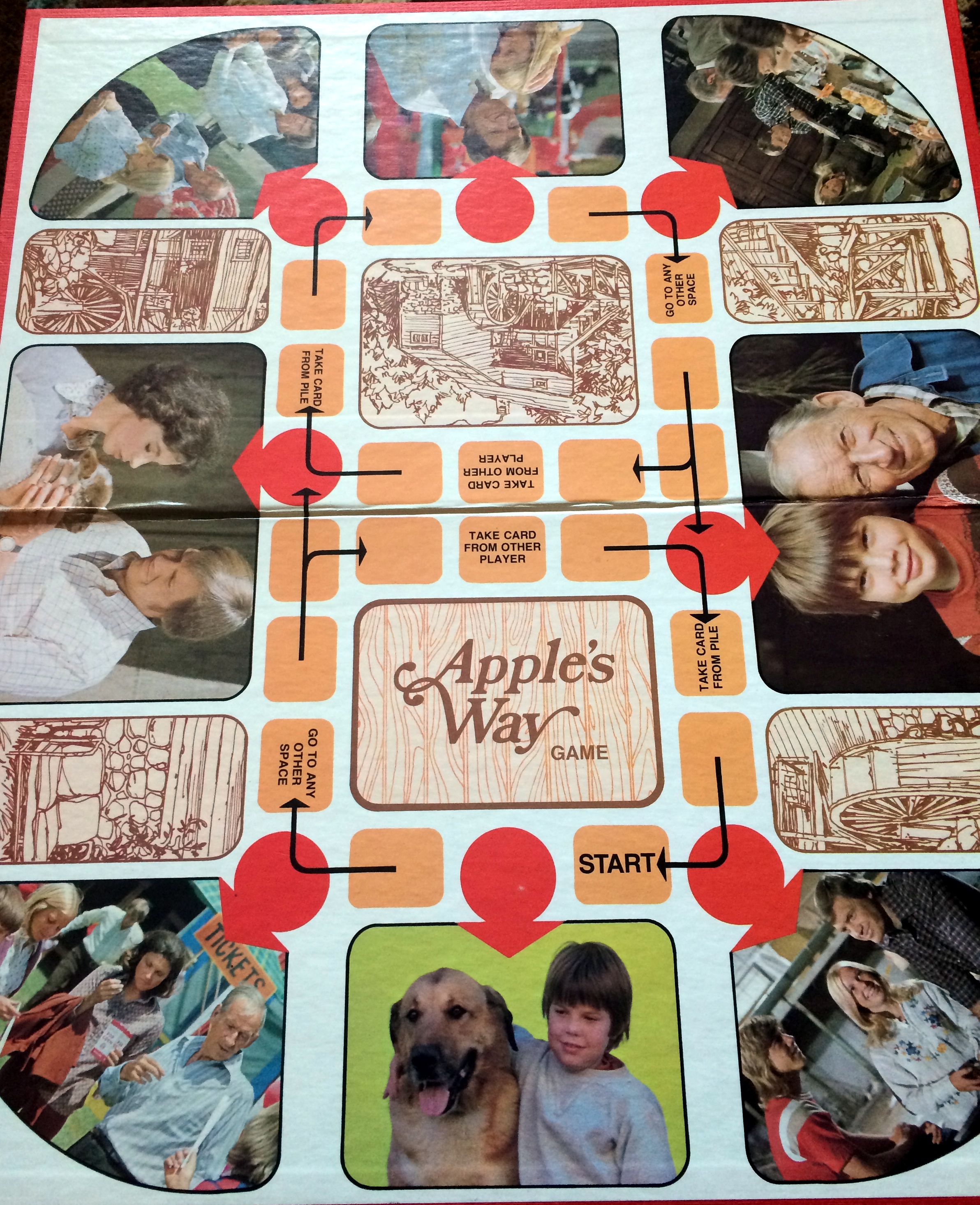 Game board colors - Game Board Old Timey Drawings Of The Mill Alternate With Color Photos From The Series