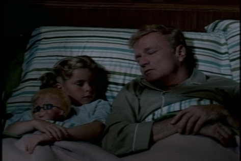 She tells him about the horrible dream she had--French was a witch trying to fatten up Buffy and Jody before eating them.