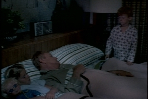Jody ends up in Bill's room, too.