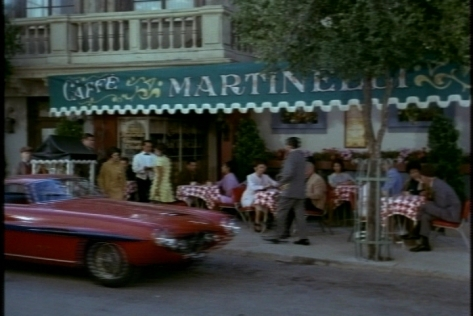 Fun coincidence: Bill and Lucianna eat at Cafe Martinelli. Martinelli's was the parents' special restaurant in The Parent Trap.
