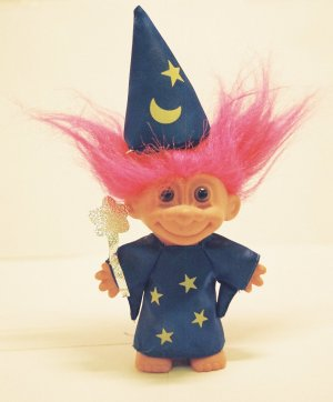 It seems like a 1960s child should have some mental image of a troll.