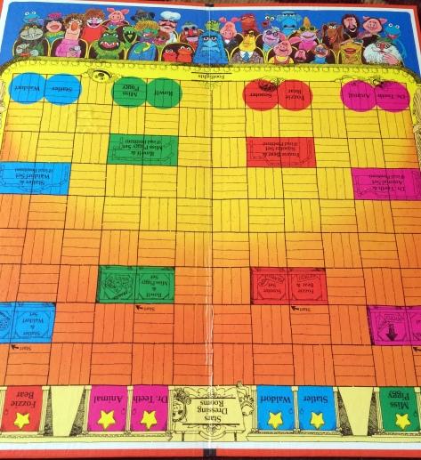 muppet show 1977 board