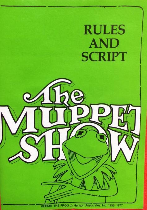 muppet show 1977 script
