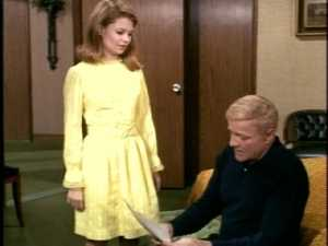 Moments later, Cissy shows Bill an essay Buffy wrote for school.