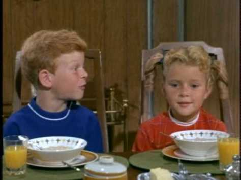 Meanwhile, Buffy and Jody are just happy that the meal-time outburst resulted in plenty of leftovers for them.