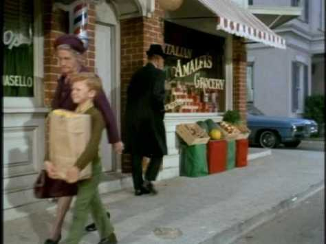 Soon we see Jody helping people carry their groceries.
