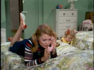 Entering her room under the presence of retrieving Mrs. Beasley, Buffy plants the recorder.