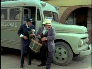 The driver remembers the kids, but when he and the station manager look for them, they come up empty-handed--except for the twins' picnic basket.