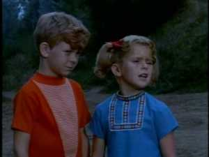 """""""I don't like this place,"""" a nervous Buffy tells her brother. """"It's too, too...you know?"""""""