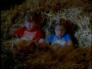 Jody finds a place for them to sleep and tries to reassure that the barn probably only seems spooky at night.