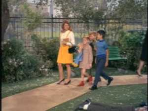 Later, Cissy takes the three kids to the park.