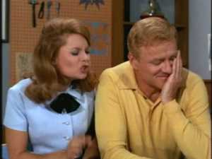 Brian Keith adopts some great facial expressions in this scene.