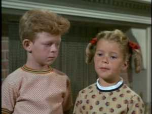 They get interrupted by the twins, who have sensed how worried Bill and Cissy are.