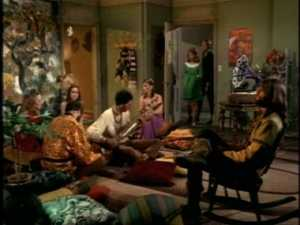Oh, my God, someone's playing the sitar. Run, Cissy, run!