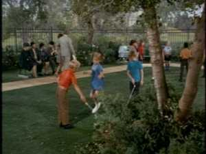 I wonder how Buffy got Jody and that other boy to hold her jump rope for her.